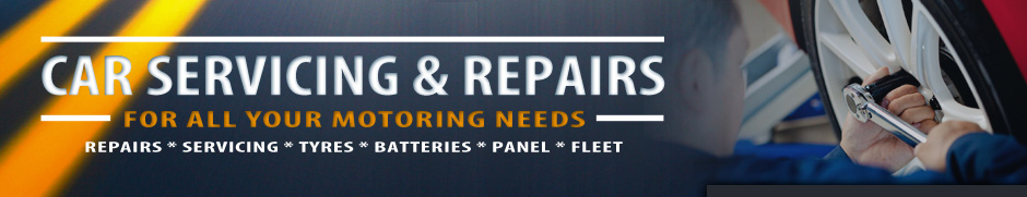 Car Servicing & Repairs | For all your motoring needs | Repairs * Servicing * Tyres * Batteries * Panel * Fleet